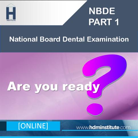 [ONLINE] NBDE Part 1 Board Prep Course